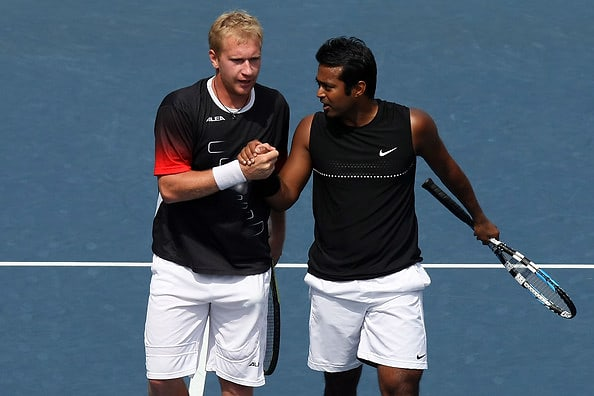 Lukas Dlouhy, Leander Paes