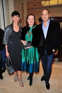 Amy Fine Collins, Glenda Bailey, Reed Krakoff