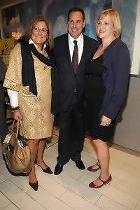 Fern Mallis, Steve Sadove, Lisa March