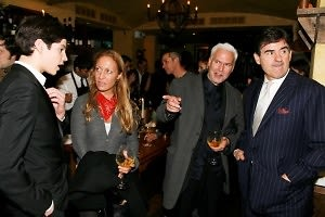 Peter Brant II, Diana Picasso, Klaus Bisenbach, Peter Brant