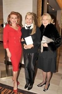 Georgette Mosbacher, Princess Yasmin Aga Khan, Cornelia Bregman