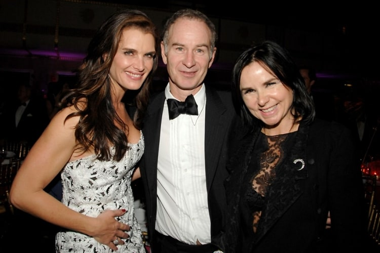 Brooke Shields, John McEnroe, Patty Smyth