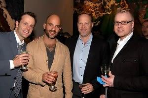 Rick Bahl, Auralio Tine, Brad Carlson, James McEwan
