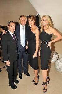 Stephen A. Levin, Donald Trump, Melania Trump, Petra Levin