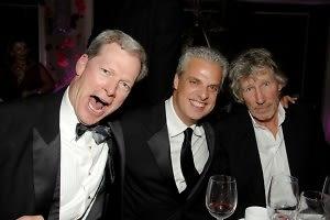 Steven Rockefeller, Eric Ripert, Roger Waters