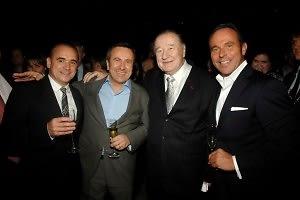 Jean-Georges Vongerichten, Daniel Boulud, Sirio Maccioni, Jean-Luc Naret