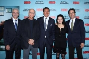 Bill Nelson, Larry David, Richard Plepler, Susie Essman, Jerry Seinfeld