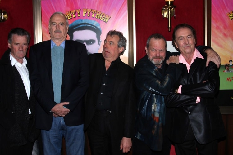 Monty Python (Michael Palin, John Cleese, Terry Jones, Terry Gilliam, Eric Idle)