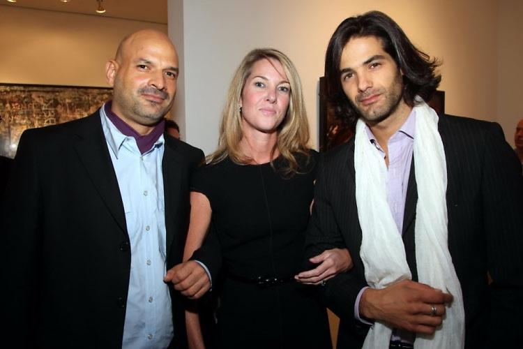 Raul Flores, Sarah Hasted, Maximiliano Palacio