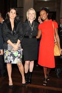 Charlotte Sarkozy, Linda Wells, Shala Monroque