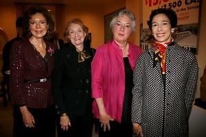 Margo Langenberg, Inez Weinstein, Sandy Lamb, Barbara Vogelstein