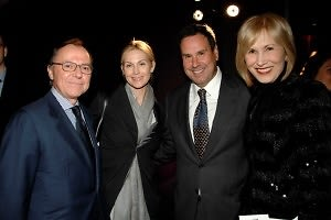 Aniello Musella, Kelly Rutherford, Steve Sadove, Valerie Salembier