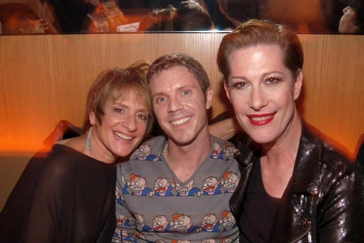 Patti LuPone, Jake Shears, Justin Bond