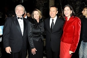 Bob Lynch, Nancy Pelosi, Jeff Koons, Alexandra Pelosi