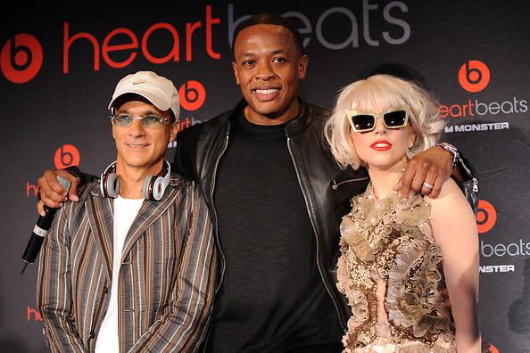 Jimmy Lovine, Dr. Dre, Lady Gaga