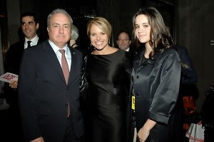 Lorne Michaels, Katie Couric, Ellie Monahan