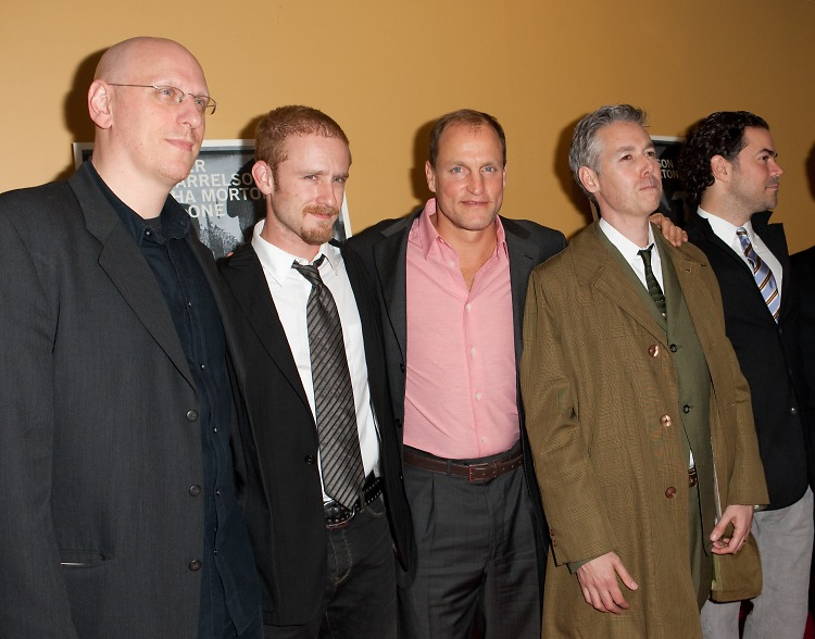 Oren Moverman, Ben Foster, Woody Harrelson, Adam Yauch