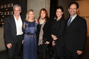 Dennis Freedman, Nina Lawrence, Patti Cohen, Bridget Foley, Adam Weinberg
