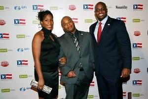 Yvette Brownridge, Ira Brownridge Jr., Melvin Kerney