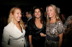 Lisa Phillips, Cat Khosrowshahi, Sue Hostetler