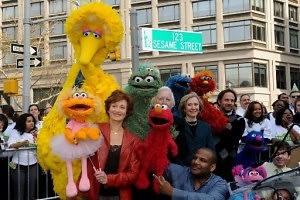 Cast of Sesame Street