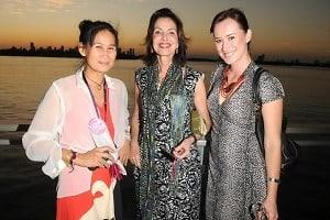Lita Cho, Nina Menocal, Nelsa Farrugia