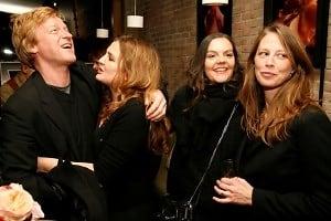 Nick Haylor, Lucia Pieroni, Debra Haylor, Tara Turner
