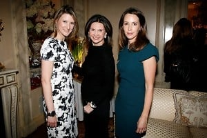 Lizzie Tisch, Trish McEvoy, Samantha Boardman Rosen