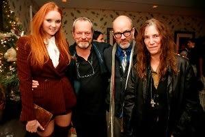 Lily Cole, Terry Gilliam, Michael Stipe, Patti Smith
