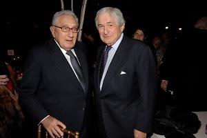 Dr. Henry Kissinger, James Wolfensohn