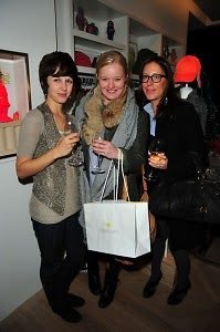 Brittany Krotts, Liz Pederson, Carrie Perlmutter