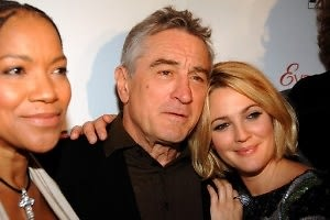 Grace Hightower De Niro, Robert De Niro, Drew Barrymore