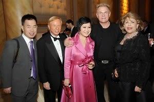 Chen Weihua, Rett Sheslow, Yue-Sai Kan, Jerry Whitlock, Sarah Lease