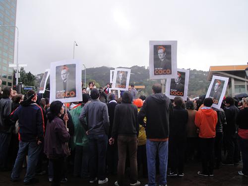 Conan Protest