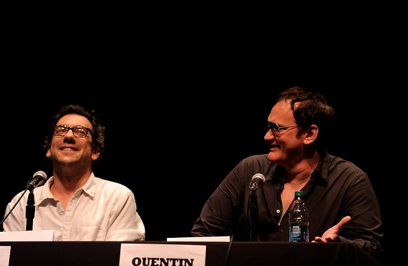 Quentin Tarantino and Todd Phillips