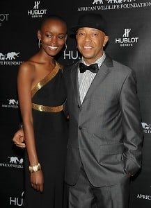 Flaviana Matata and Russell Simmons