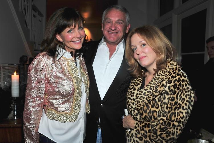 Joan Collins Throws Coke Heir Alex Hitz A Birthday Party