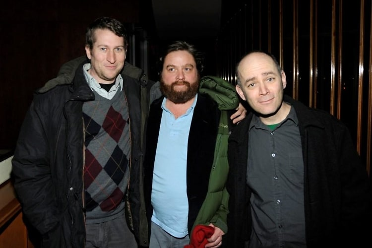 Scott Aukerman, Zach Galifianakis, Todd Barry  Event Image Image in Lightbox