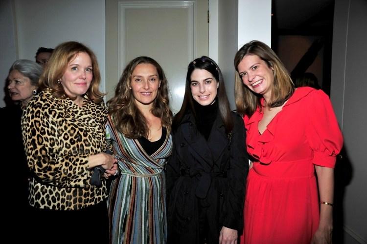Marin Hopper, Ruthanna Hopper, Amanda Goldberg, Alexandra Kimball
