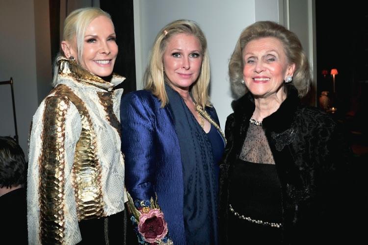Michele Herbert, Kathy Hilton, Barbara Davis