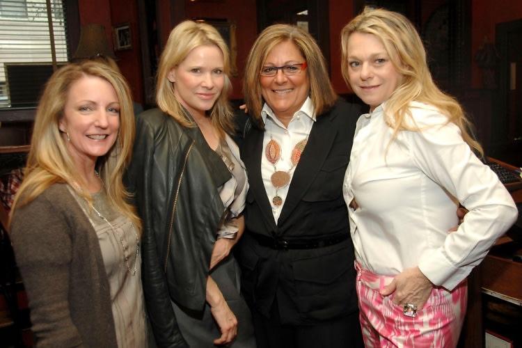 Beth Guastella, Patricia Duff, Fern Mallis, Debbie Bancroft