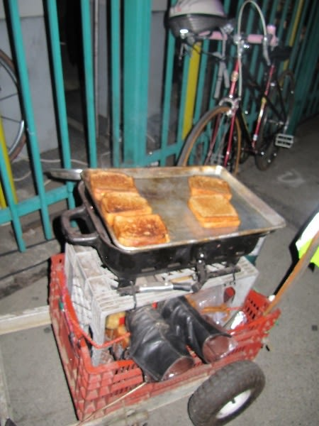 Grilled Cheese Man