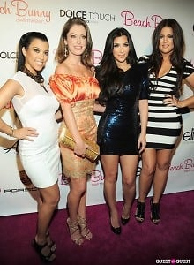 Kourtney Kardashian, Angela Chittenden, Kim Kardashian, Khloe Kardashian
