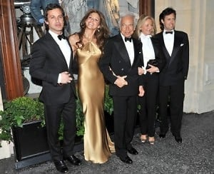 Ralph Lauren and family