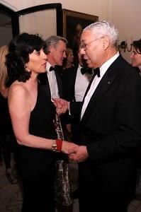 Christiane Amanpour, Colin Powell
