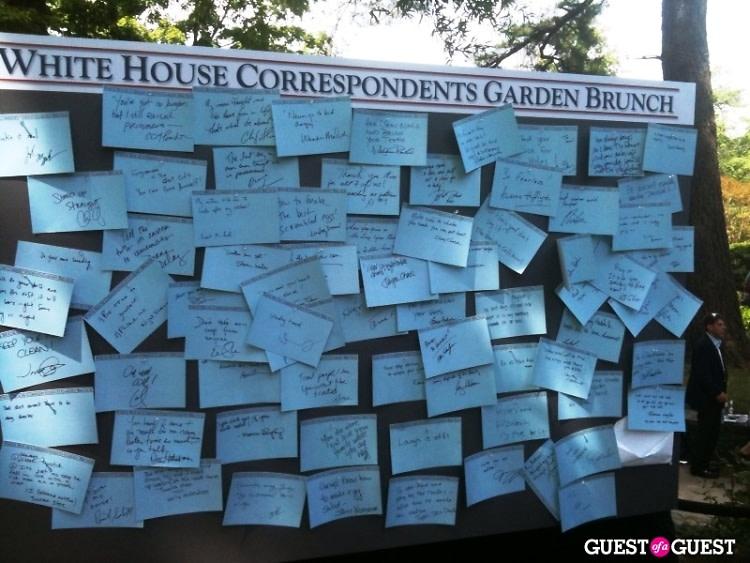 White House Correspondents' Garden Brunch