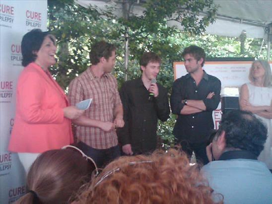 Tammy Haddad,Matthew Morrison, Chace Crawford
