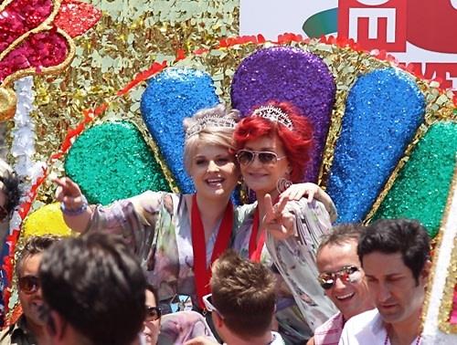 Kelly Osbourne, Sharon Osbourne
