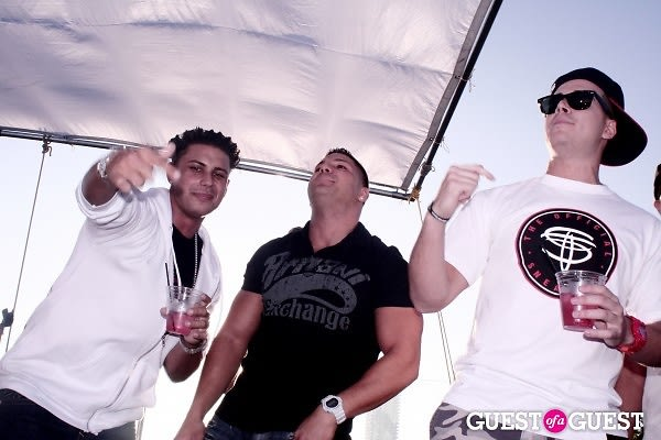 Pauly D, Ronnie Magro, Vinny Guadagnino