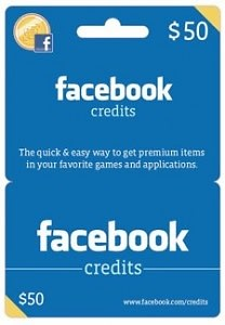 Facebook Gift Cards